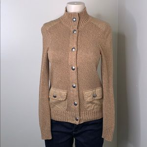 Ralph Lauren button up sweater size small
